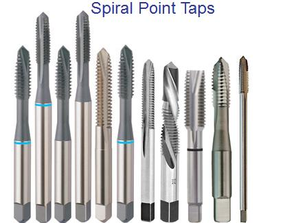 Taps Threading Tools High Speed Steel Cobalt Cutting Tools